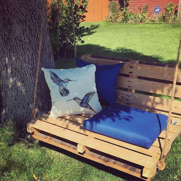 jardin portique fauteuil ou hamac