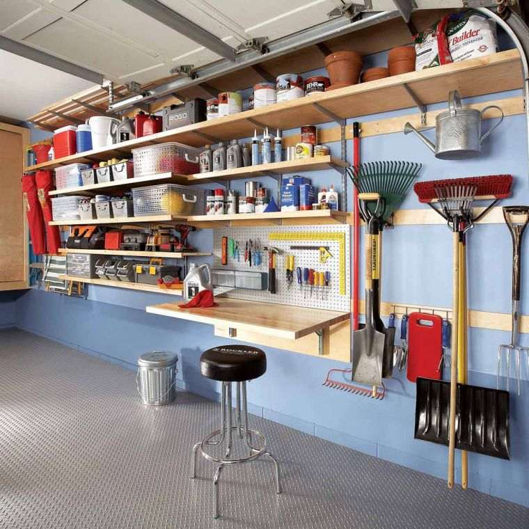 astuces rangement garage pour un espace