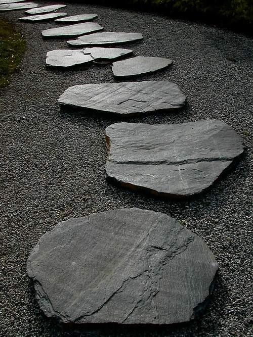 Grey Slate Landscaping Rock