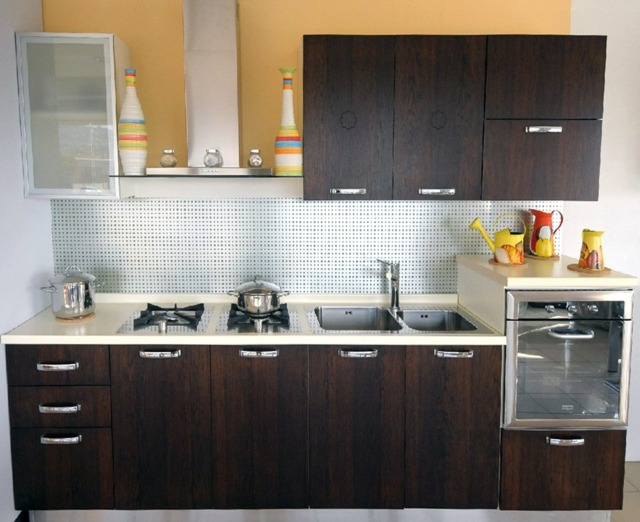 Small Size Modular Kitchen Design