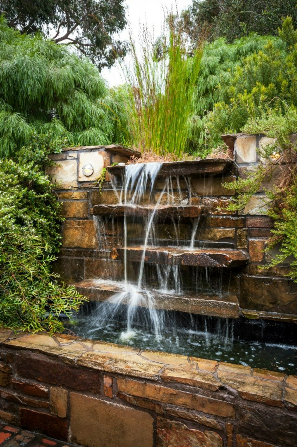 Rock Waterfall Pond