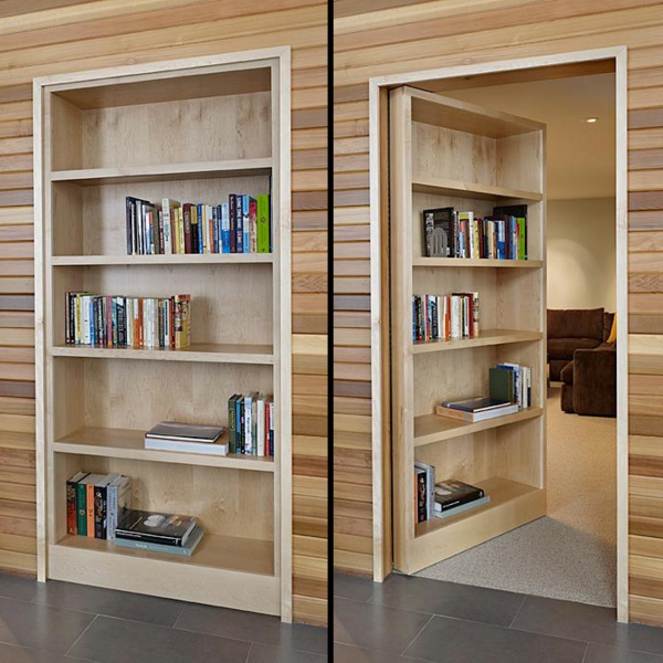 Wide 22 Inches Bookcase