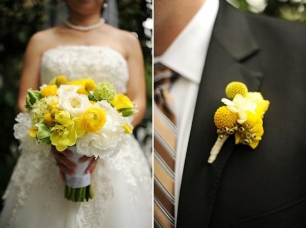 54 Exemples Pour Le Bouquet Mariage Et Boutonnire