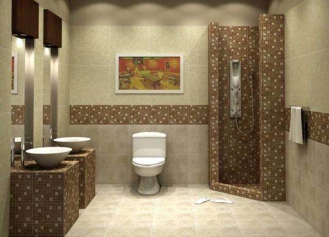 carrelage salle de bains 34 idees
