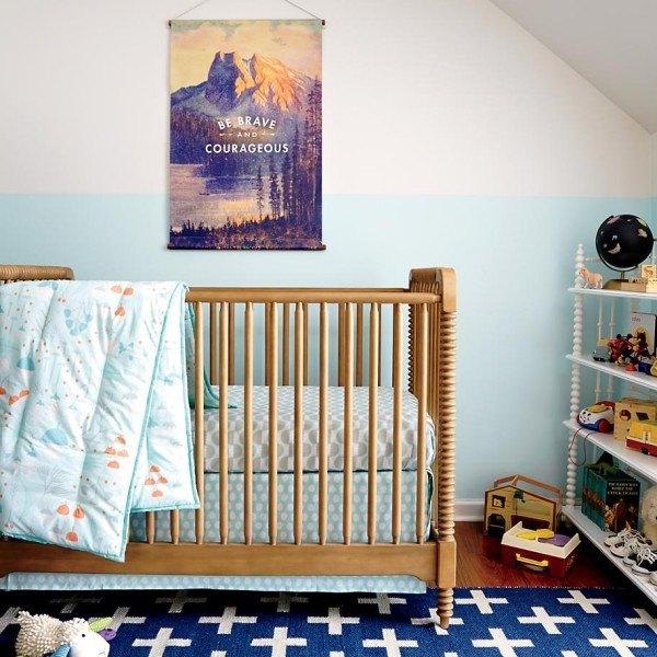 Une Nursery Charmante Et Moderne Pour Votre Bb 17 Ides