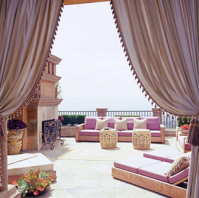 deco patio décoration marocaine