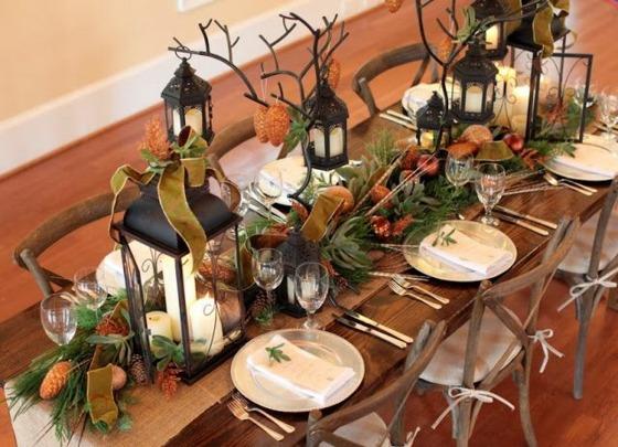 Dco Table Et Centres De Table Floraux