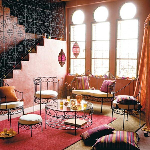 décoration marocaine style somptueux coloré