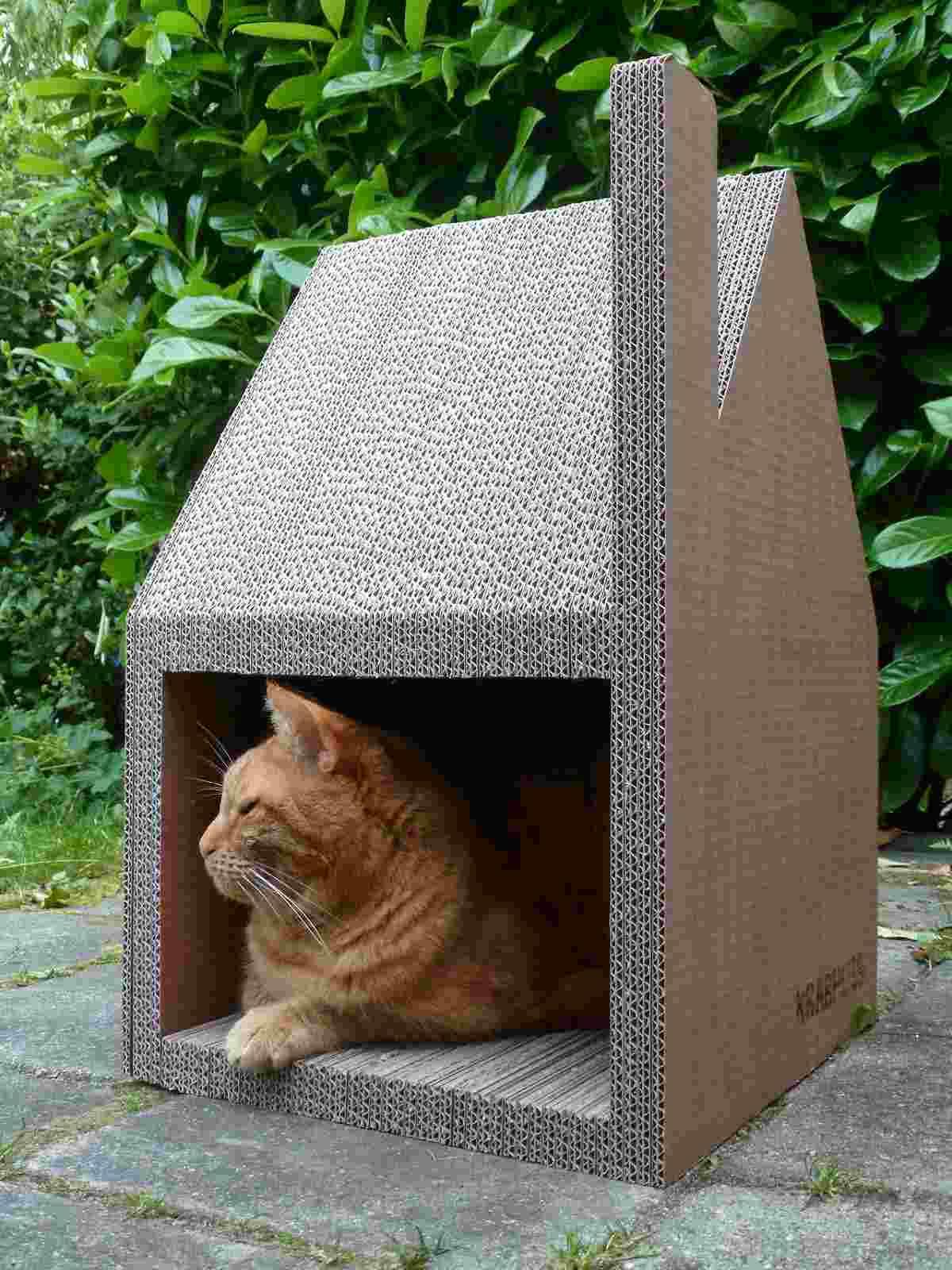 Maison Pour Chat Design La Krabhuis Belle Et Confortable