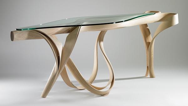 meubles en bois design extraordinaire