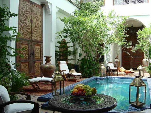 patio deco orientale piscine