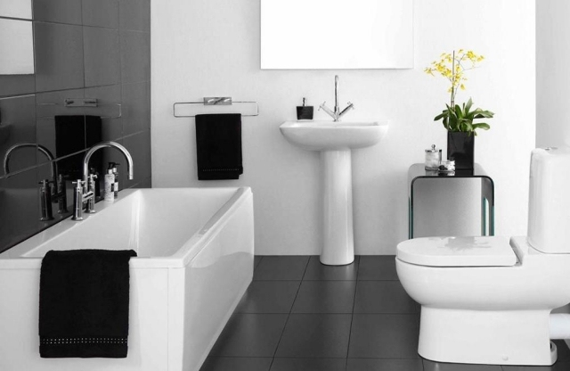 petite salle de bain moderne en 34