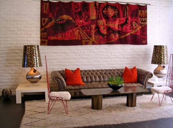 Le Salon Marocain Saffiche En 33 Exemples Tonnants