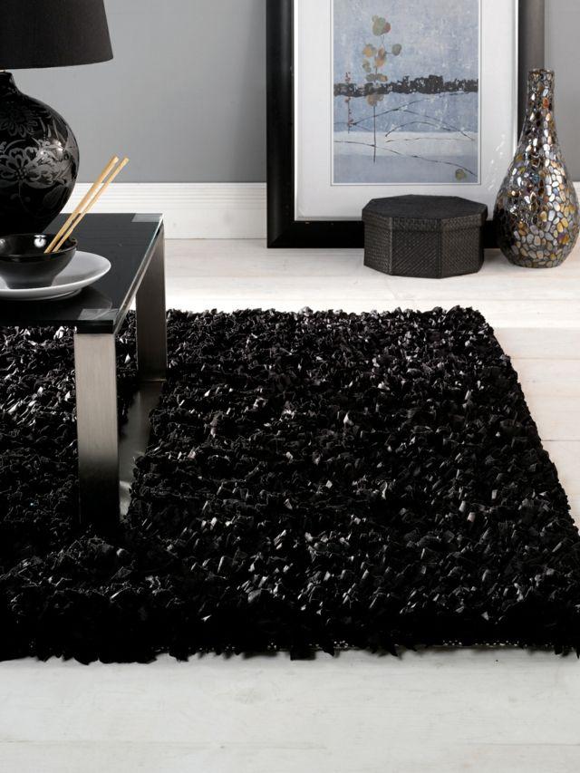le tapis poil long un accessoire