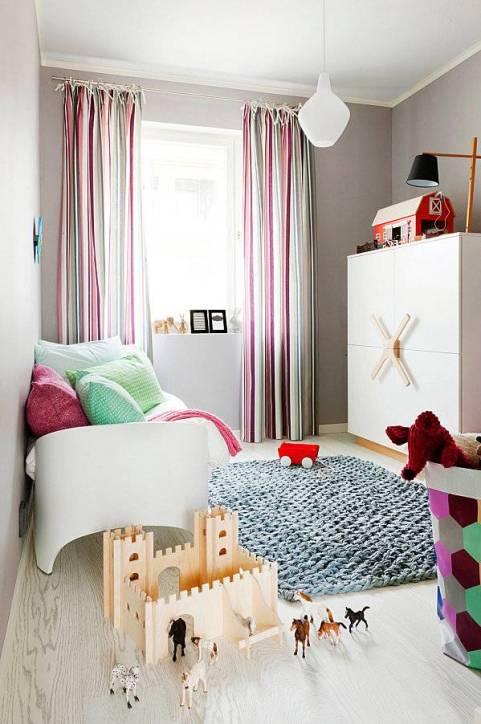 tapis moderne chambre enfants
