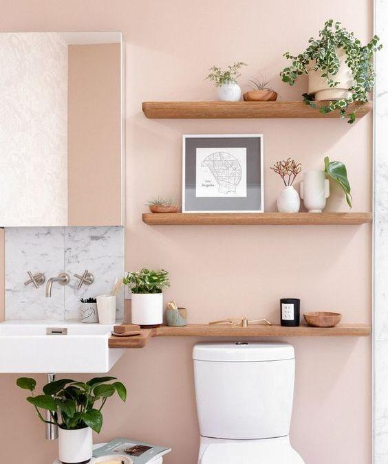 Salle de bain: Couleurs tendances 2020