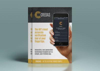 Credas Folded Leaflet