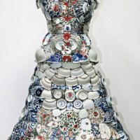 """Made in China"" Art / Porcelain Costumes by Li Xiaofeng"