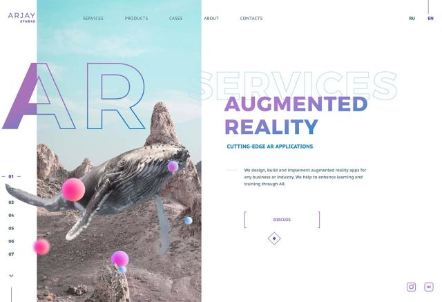 arjay - Top Trends for web Design and UI  for 2020