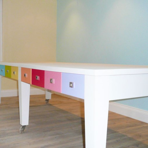 Children's Playroom Lego Table