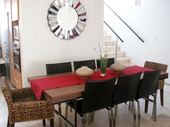 Contemporary Villa - Dining Area