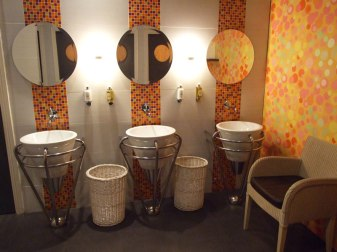 The House Hotel Interiors - Ladies Public Restroom