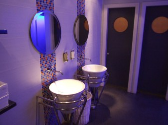 The House Hotel Interiors - Men's Public Restroom