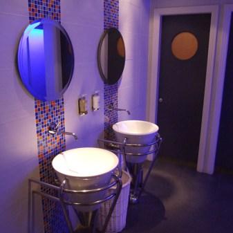 The House Hotel Interiors - Men's Public Restroom
