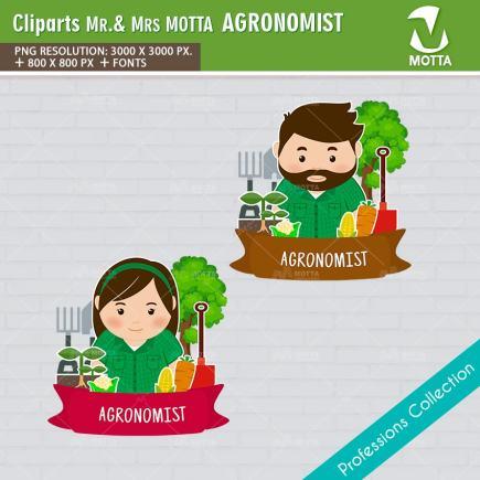 ClipArts Design Profession Agronomist