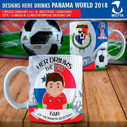 DESIGNS THE BEST FAN OF PANAMA IN RUSSIA 2018