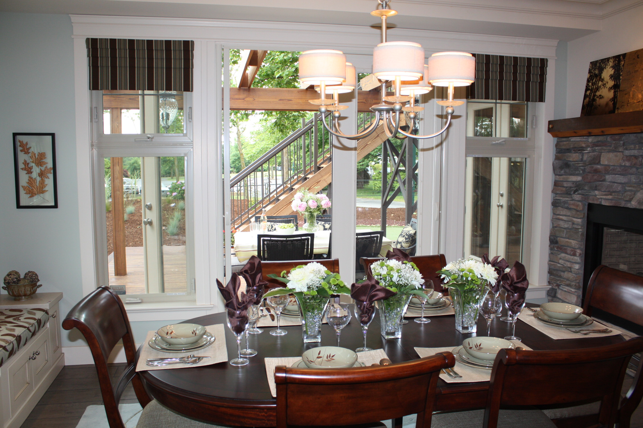 PNE Home Dining Room ~ Gill, Kathy Still, Charlotte Decorators