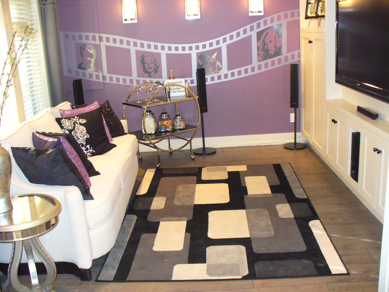 Media Room ~ Colette Amaral Decorator