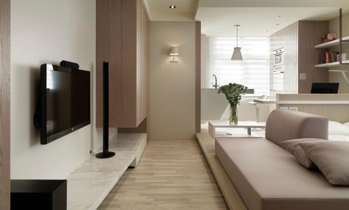 дизайн проект квартиры 32 кв м 1