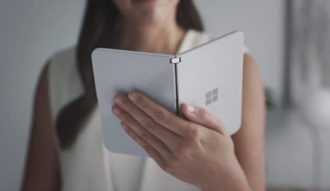 AT&Tがマイクロソフトの「Surface Duo」を独占販売?