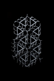 3D-printed textile by Pearl Wilmer-Shiles