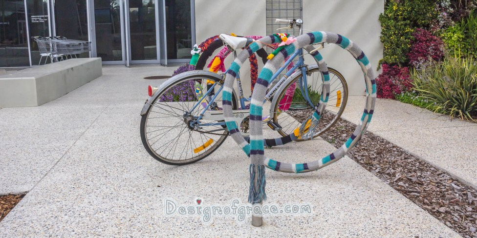 Garage Sale + Yarn Bombing 44