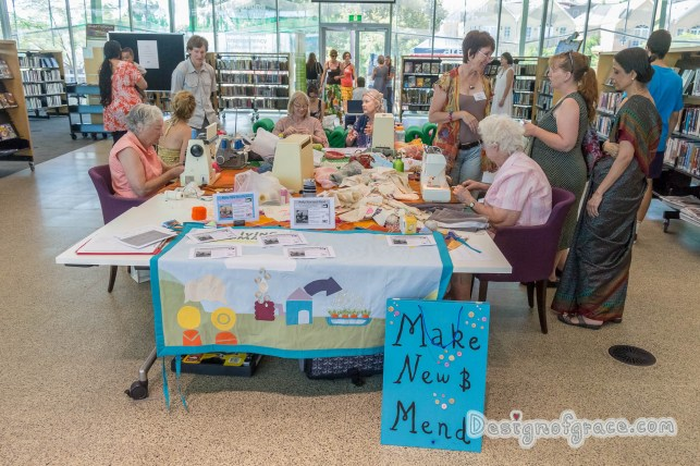 the Mend and Make New table