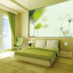Accent Light Green Room