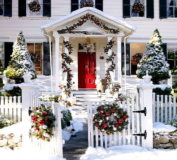 Christmas Outdoor Decorating Ideas
