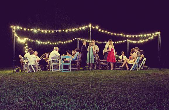 Wedding Outdoor Lighting Ideas