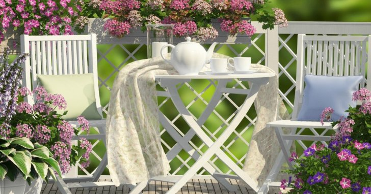 Get Modern Balcony Furniture Ideas Pictures