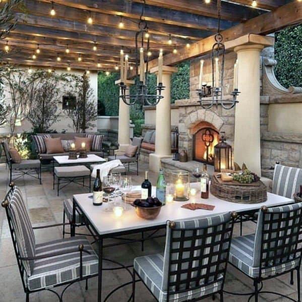24+ Balcony Fireplace Ideas Gif