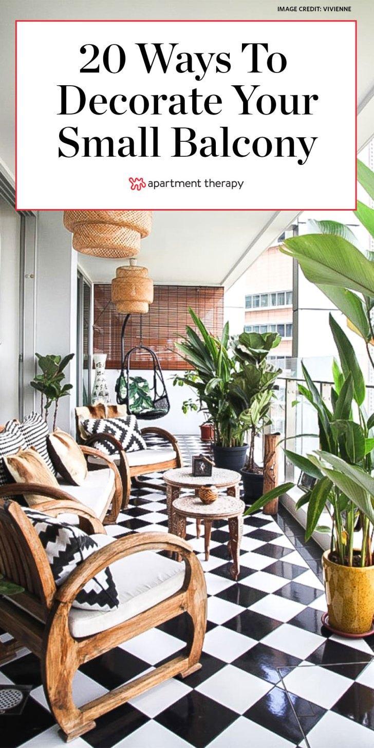 35+ Apartment Balcony Design Ideas Background