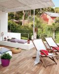Large Balcony Decorating Ideas
