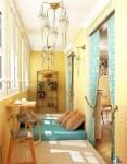 Yellow Balcony Ideas