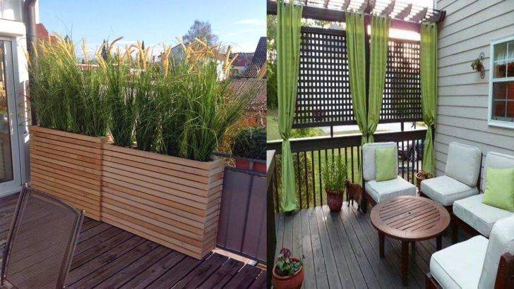 22+ Balcony Privacy Ideas Plants Pics