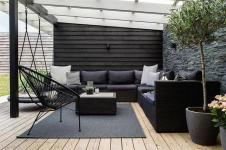 Black And White Balcony Ideas