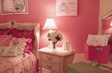 Pink Romantic Bedroom Designs