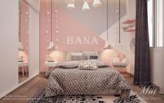Beautiful Pink Bedroom Design