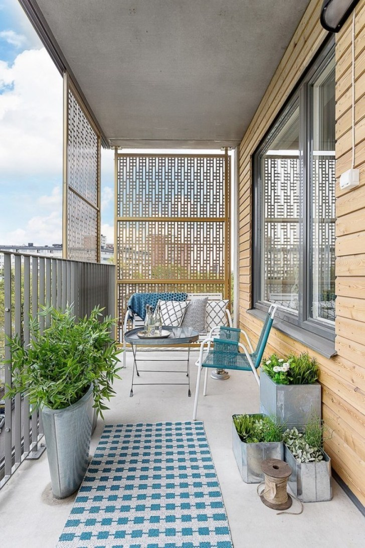 Download Green Small Balcony Ideas PNG